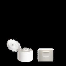 Klappscharnierverschluss - weiß - 24/410