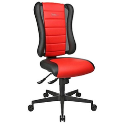 Topstar Sitness RS Gaming Stuhl rot Kunstleder