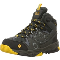 Jack Wolfskin Outdoorschuh 'Mountain Attack 2 Texapore Mid' gelb / graphit, Größe 30, 3547438