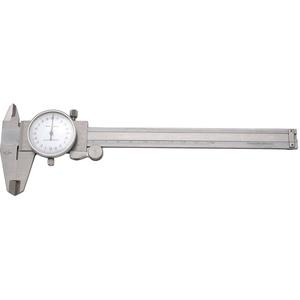 Elora 1515-100 Präzisions-Uhrenmessschieber mit Feststellschraube, Messbereich 150 mm