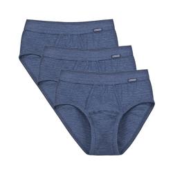 Ammann Slip 3er Pack Jeans Slip Unterhose mit Eingriff Slip blau 12