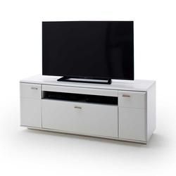 Fernsehunterschrank in Weiß 150 cm breit