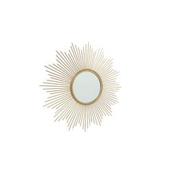 Boltze Spiegel Brooklyn in gold, 50 cm