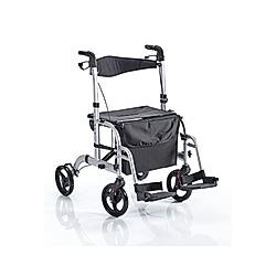 Rollator-Rollstuhl 2in1