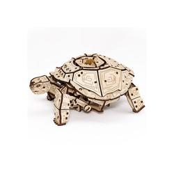 Eco Wood Art 3D-Puzzle Schildkröte – mechanischer Modellbausatz aus Holz, Puzzleteile
