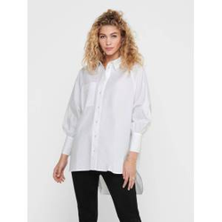 ONLY Oversize Hemd Damen White Female XS