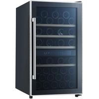 Respekta WKS 49, Weinkühlschrank, schwarz, 2 Temperaturzonen