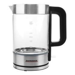 Gastroback Design Wasserkocher Basic  Wasserkocher, 3000 Watt  1.7 Liter,  ed... (Wasserkocher)