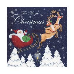 Paper+Design Papierserviette Magic of Christmas, (5 St), 33 cm x 33 cm