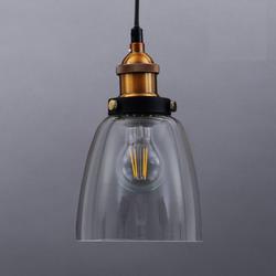 B.K.Licht Pendelleuchte Sigma, Deckenlampe Retro Pendel-Lampe Vintage Hängeleuchte Loft Edison E27