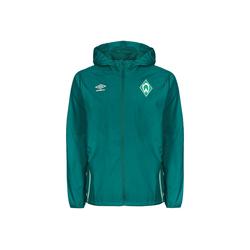 Umbro Regenjacke Sv Werder Bremen grün L