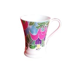 Fine Bone Porzellan Tasse Geschenkidee Kaffe + Teetasse 5442-1001A Tiffany Blau
