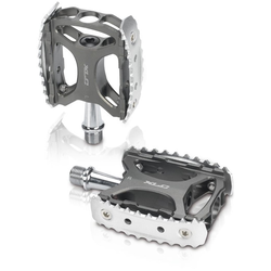 XLC Fahrradpedale MTB/Trekking Pedal PD-M17, (2) schwarz Rad-Ausrüstung Radsport Sportarten