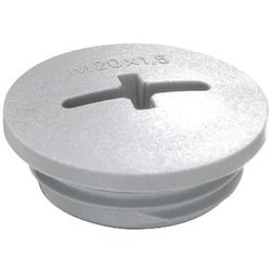 Wiska EVSG M32 RAL 7001 Verschlussschraube M32 Polyamid Silber-Grau (RAL 7001)
