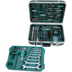 MANNESMANN Werkzeugkoffer 108-tlg. grün