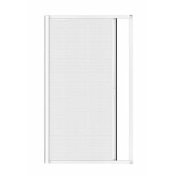 Insektenschutz-Rollo für Türen, 125 x 225 cm in weiß