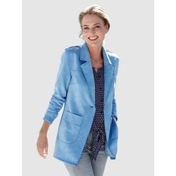 Dress In Jacke in Suedequalität blau 54Normal