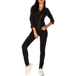Simply Chic Jumpsuit 2958 Damen Jeans Hosenanzug blau 36