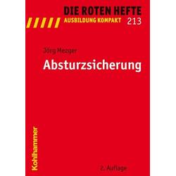 Absturzsicherung als Buch von Jörg Mezger