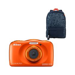Nikon Coolpix W150 Rucksack-Set Orange
