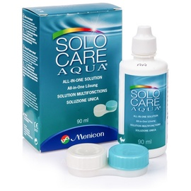 Menicon Solocare Aqua Kombi-Lösung 90 ml