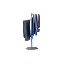 relaxdays Handtuchständer Handtuchhalter freistehend 3-armig