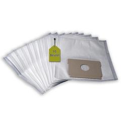 eVendix Staubsaugerbeutel Staubsaugerbeutel kompatibel mit Progress 701 (EL) Exclusiv, 10 Staubbeutel ähnlich wie Original Progress Staubsaugerbeutel P 20 SH, passend für Progress