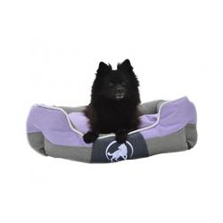 Aquagart® Hundebett violett L 75 x 60cm Hundekissen Hundebetten Hundesofa