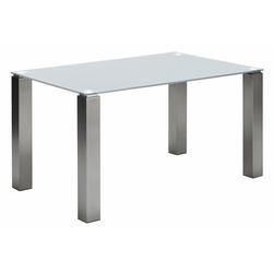 NIEHOFF SITZMÖBEL Esstisch Multitop, taupe oder weiß, in 5 Breiten weiß 125 cm x 76 cm x 90 cm