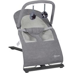 BabyGo Babywippe Fancy, grey, bis 9 kg grau Baby Babywippen Bauchtragen, Babyschaukeln