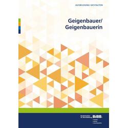 Geigenbauer/ Geigenbauerin als Buch von