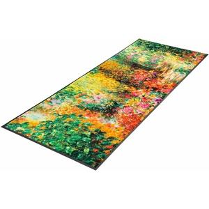 wash+dry by Kleen-Tex Läufer Primavera, rechteckig, 7 mm Höhe bunt Teppichläufer Bettumrandungen Teppiche