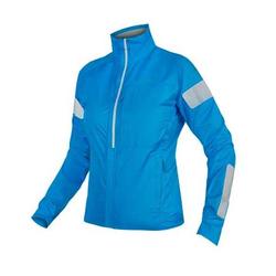 Endura WMS Urban Luminite reflektierende Damen Fahrradjacke blau L