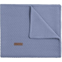 BabysOnly Babydecke Cloud indigo 70 x, BabysOnly