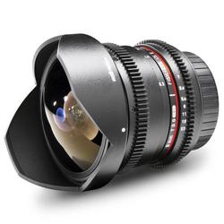 Walimex Pro 8/3,8 Fish-Eye II VDSLR Fish-Eye-Objektiv f/1 - 3.8 8mm