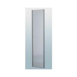 Seitenwand, verzinkt - für Höhe 2500 mm - für Tiefe 500 mm Seitenwand