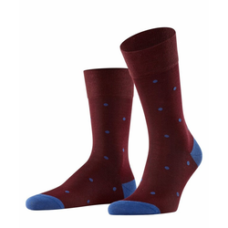 FALKE Socken Dot (1-Paar) mit hoher Farbbrillianz rot 43-46