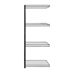 Regalfeld »Stora 100« 75 x 40 cm, Kerkmann, 75x190x40 cm