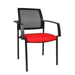 2 Topstar BtoB 10 Besucherstühle rot