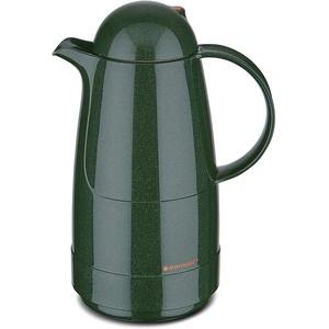 ROTPUNKT Isolierkanne 200 Christine 0,5 l | Zweifunktions-Drehverschluss | BPA-frei - gesundes Trinken | Made in Germany | Warm + Kalthaltung | Glaseinsatz | Sparkling Green
