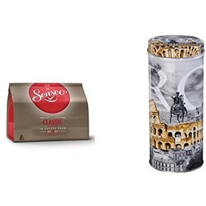 "Senseo - Classic Kaffeepads - 16.St/111g Xavax Paddose ""City"" Rom"