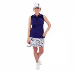 Girls Golf Oh La Ärmelloses Polo tinte