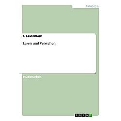Lesen und Verstehen. Silke Lauterbach  - Buch