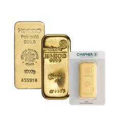 1 kg Goldbarren