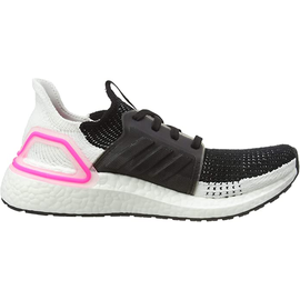 adidas Ultraboost 19 black-white-pink/ white, 38.5
