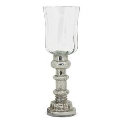 matches21 HOME & HOBBY Kerzenständer Teelichtgläser Tulpenform Kerzenhalter 25 cm