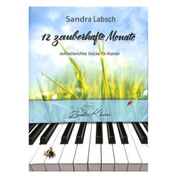 12 zauberhafte Monate - mittelleichte Stücke für Klavier