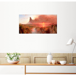 Posterlounge Wandbild, Cotopaxi 40 cm x 20 cm