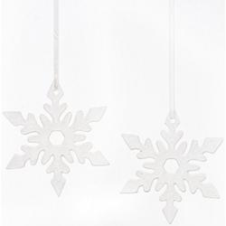 Fabriano Dekohänger Eiskristall Nerea (Set, 2 Stück), Ø 15 cm