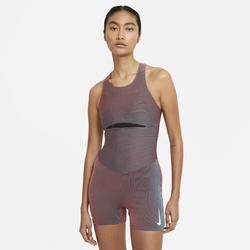 Nike Lauf-Ganzkörpertrikot für Damen - Rot, size: XL